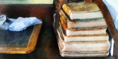 История школьных учебников: отглины доэлектроники