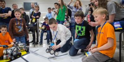 Москва иПетербург сразятся зазвание столицы робототехники