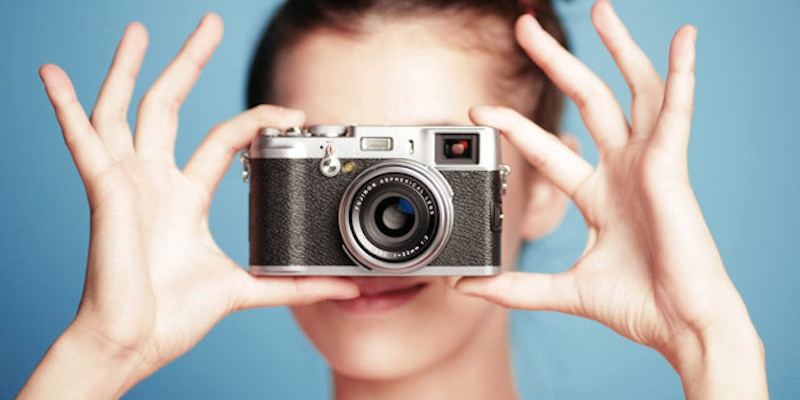 Основы фотографии. Блок «Знакомство с зеркальной камерой». 12+
