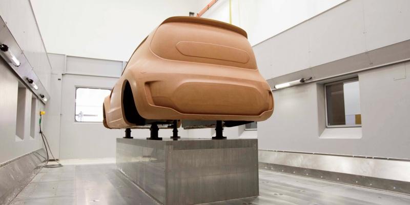 Моделирование из глины в дизайне автомобилей