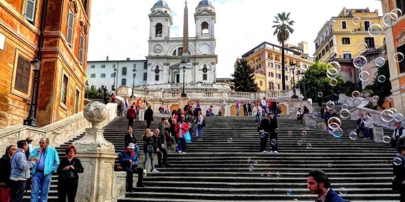 Фотоприключение в Риме