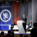 Его Королевское Высочество принц Майкл Кентский на официальной церемонии открытия международной школы Brookes Moscow