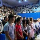 Церемония вручения студенческих билетов первокурсникам колледжа