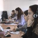 Наши занятия по иностранному языку в лингофонном кабинете