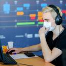 """Волонтеры ДВФУ, помогающие преподавателям """"переводить"""" обучение в онлайн, март 2020"""