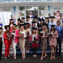 Вручение дипломов бакалавра выпускникам очной формы, окончившим Академию на отлично.