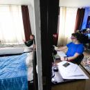 Студенты ДВФУ в общаге кампуса на острове Русском, Владивосток