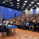 Встреча ректора А.С. Запесоцкого со студенческим активом