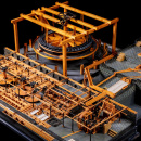 Модель Целлерфельдской обогатительной фабрики