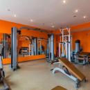 Занятие спортом только поощряются для студентов, именно по этому на территории есть тренажёрный зал, а также зал для тренировок по единоборствам
