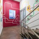Важность в мелочах - каждый этаж Университета Синергия оформлен в индивидуальном дизайне