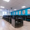 Компьютерные классы оборудованы таким образом, что каждый студент может заниматься за своим рабочим местом