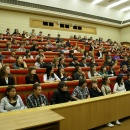 Студенты МИГСУ. Идет учебный процесс.