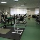В здании университета на Ленинградском проспекте расположены два спортивных зала. Первый - предназначен для занятий аэробикой, пилатесом, танцами. Второй - зал с тренажерами и снарядами для легкоатлетических и силовых упражнений.