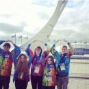 Студенты РГУТИС - волонтеры на Олимпиаде Сочи 2014