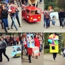 """Студенты празднуют """"Всемирный день без машин"""""""