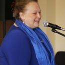 Елена Александровна Спиркина, ректор ИППиП говорит напутственные слова нашим выпускникам 2014!
