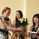 Выпускники 2014 благодарят Слуцкую Мадину Нуриевну, преподавателя программы «Аналитическая психология К.Г.Юнга»