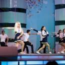 Выступление на конкурсе Мисс студенчество
