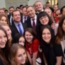 Визит премьер-министра Д.А. Медведева в РЭУ в Татьянин день 25 января 2016 года