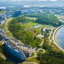 Кампус ДВФУ на острове Русском (первая очередь) открыт для студентов в 2013 году.