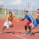 Занимаются спортом в кампусе ДВФУ #ИдемНаВосток