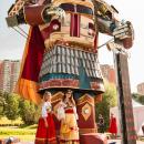 Создание робота-богатыря для фестиваля Ростех