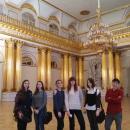 Студенты ВХУТЕИН на экскурсии в Эрмитаже