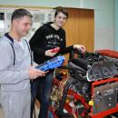 Рабочие стенды автомобильных двигателей компьютерной диагностики