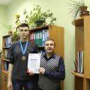 Наши студенты занимают призовые места в городских соревнованиях и чемпионатах