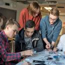Студенты ДВФУ на проектной деятельности