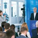 Сергей Собянин на открытом мероприятии в НИУ ВШЭ
