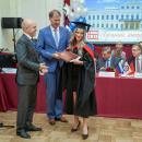 Вице-губернатор Санкт-Петербурга Серов К. Н. на торжественном вручении дипломов лучшим выпускникам-2018г