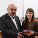 Вручение дипломов ВЕИП